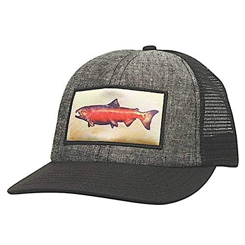 Ambler Trophy Snapback Hat (Black)