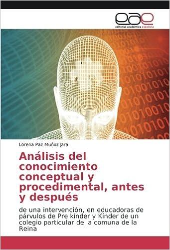 Análisis del conocimiento conceptual y procedimental, antes y ...
