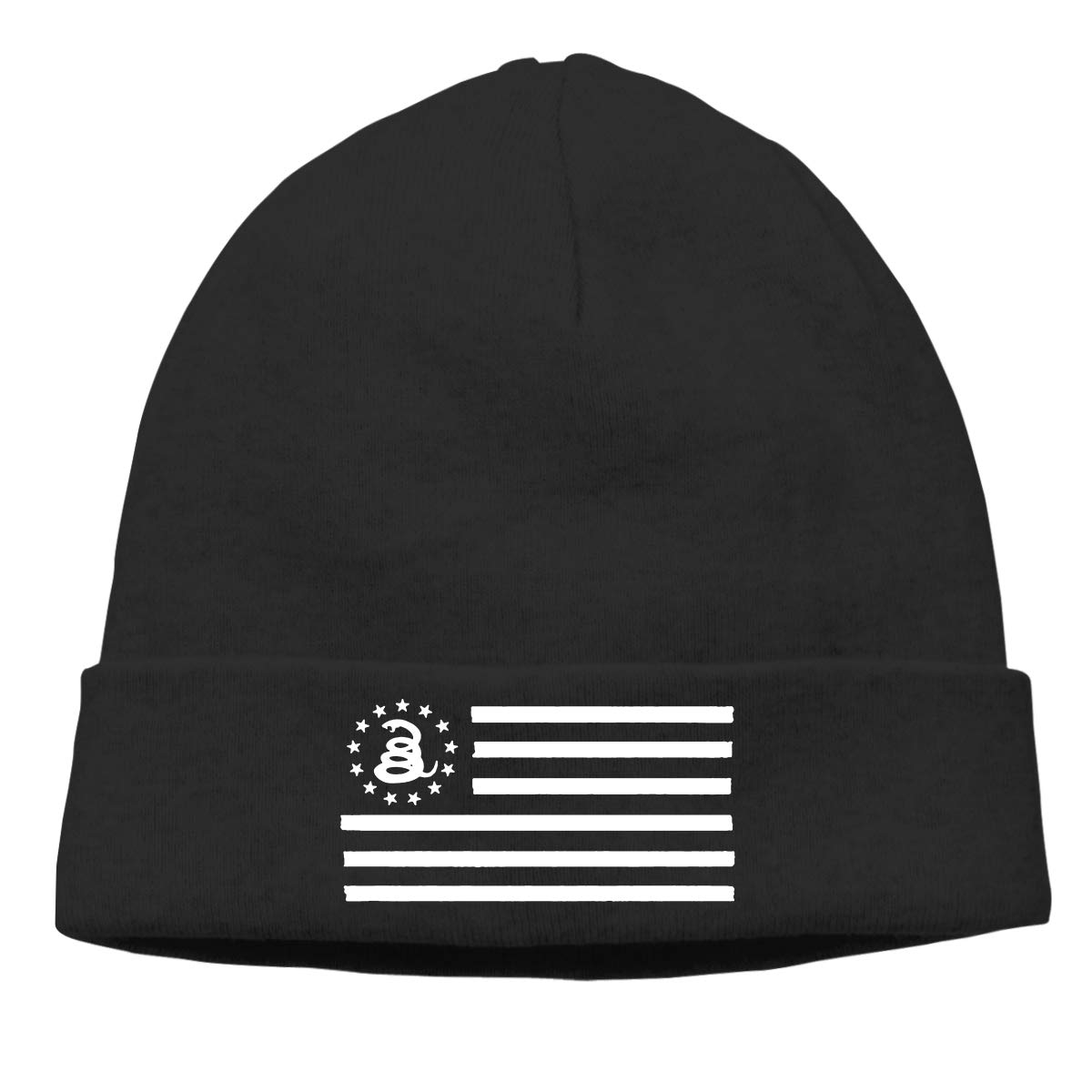CgyOIUY-lop Beanie Hat Warm Hats Skull Cap Knitted Hat Gadsden Flag