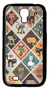 diy phone caseGalaxy S4 Case, Unique Design Protective Hard PC Black Cats Case Cover for Samsung Galaxy S4diy phone case