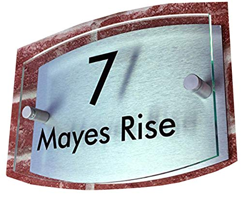 ThedisplayDeal House Address Numbers Door Plaque, 8