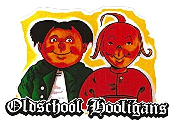 Oldschool Hooligans Aufkleber Sticker Jdm Fun Cool Autoaufkleber Ca 11x8 Cm