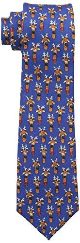 Wembley Mens Reindeer Holiday Tie product image