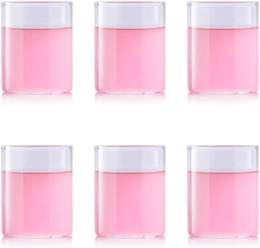 BOROSIL VISION CLASSIC SERIES - Vasos, 120ml, Conjunto de 6, Ultra ...