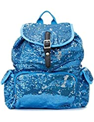 Sequin Fashion Backpack in Turquoise Sea