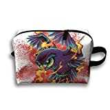 Travel Bags Owl Design Portable Storage Bag Clutch Wallets Cosmetic Bags Organizer Zipper Hangbag Carry Case