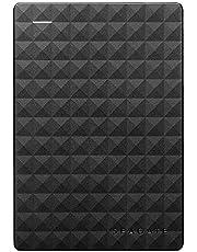 Seagate Expansion, Extern Portabel Hårddisk 5 TB USB 3.0, svart, Notebook, PC, Mac, Xbox, PS4 (STEA5000402)
