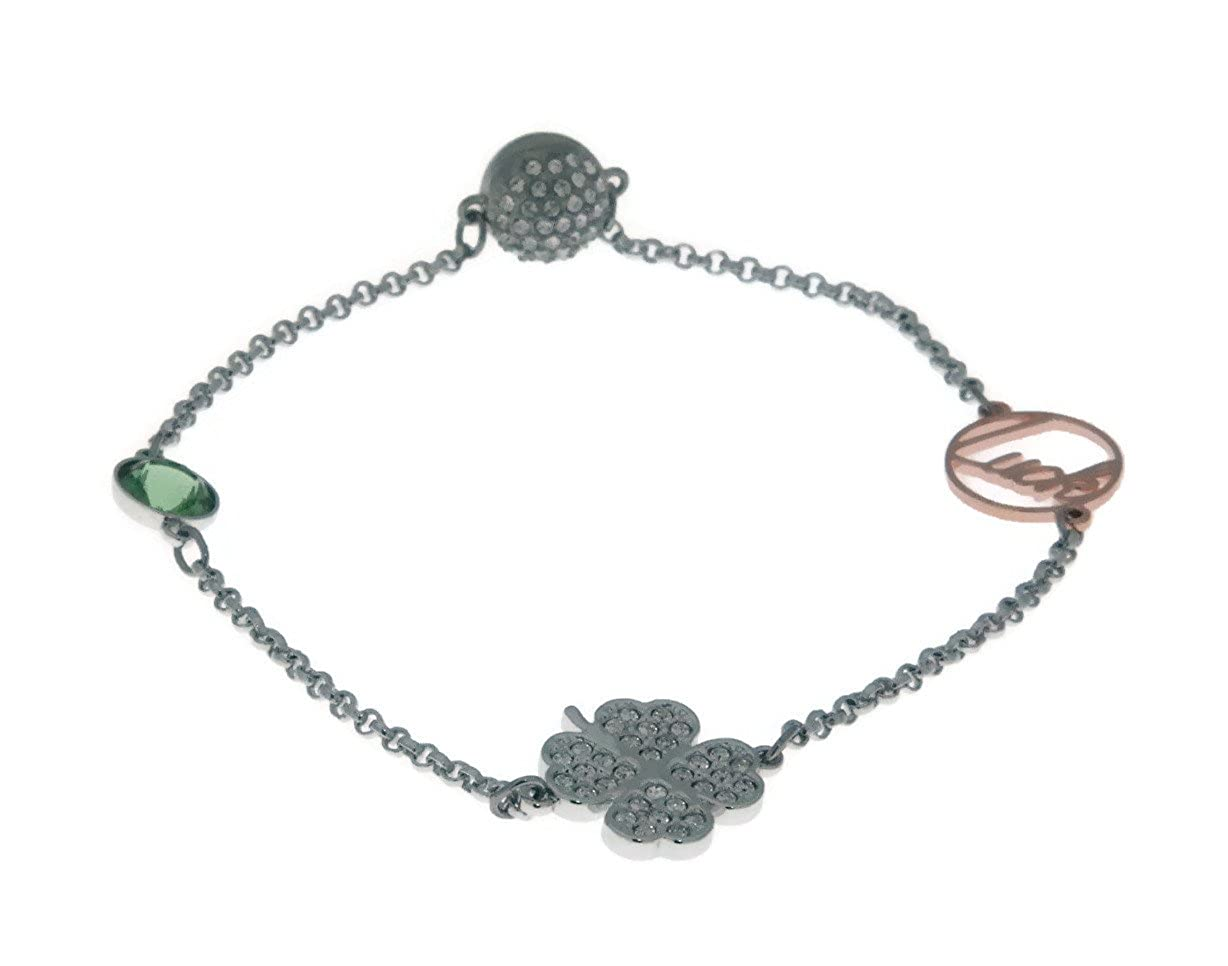 c3a5976167ce0 Amazon.com: Swarovski Remix Collection Clover, Green, Mixed Plating ...