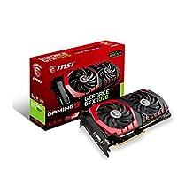 MSI GeForce GTX 1070 GAMING X 8G Video Card 8GB GDDR5 256B PCI Express SATA HDMI/DL-DVI-D/3xDisplayPort Retail