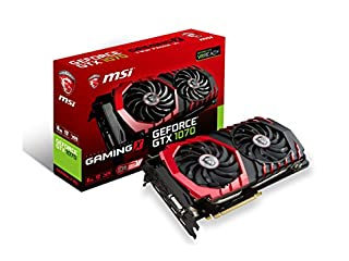 MSI Gaming GeForce GTX 1070 8GB GDDR5 SLI DirectX 12 VR Ready Graphics Card (GTX 1070 GAMING X 8G) (B01GXOX3SW) | Amazon price tracker / tracking, Amazon price history charts, Amazon price watches, Amazon price drop alerts