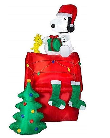 Amazon.com: Holiday Living Peanuts - Snoopy hinchable de ...