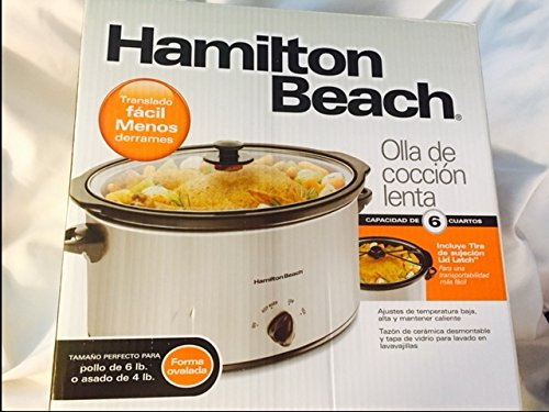 Hamilton Beach 33167 6 qt Slowcooker