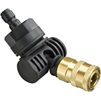 WORX WA4039 Hydroshot Pivoting Quick-Connect Adapter, Black