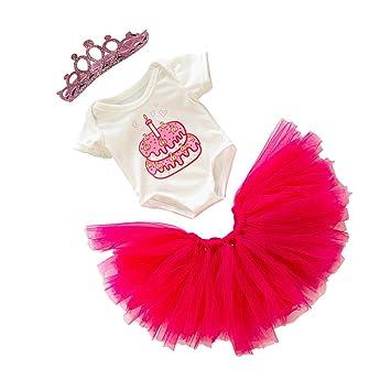 Amazon.es: Toygogo Vestido de Princesa de Cumpleaños de Muñecas ...