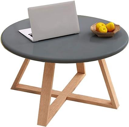 Home Warehouse Tavolino Nordico Legno Multifunzione Salotto Sofa Tavolo Tavolino Rotondo Tavolino Da Tavolo Tavolo Da Pranzo Tavolino Da Cucina Piccolo Mobile Gray Amazon It Casa E Cucina