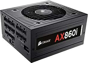 Corsair 860W Power Supply, Active PFC AX860i 80Plus Platinum, NZ00963 (AX860i 80Plus Platinum)