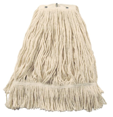 Mop Natural Continental (Wilen A551324, Leader/US Cotton No Marr Pinnacle Fan Mop, 24-Ounce, Natural (Case of 12))