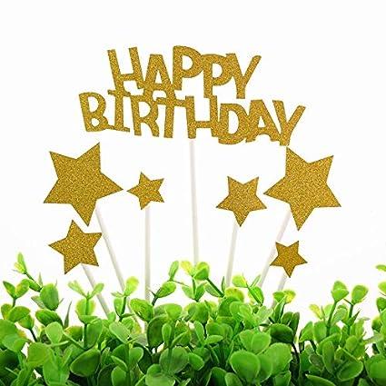 Made In Year, Happy Birthday Cake Topper.Custom Year Ie 1967 ...