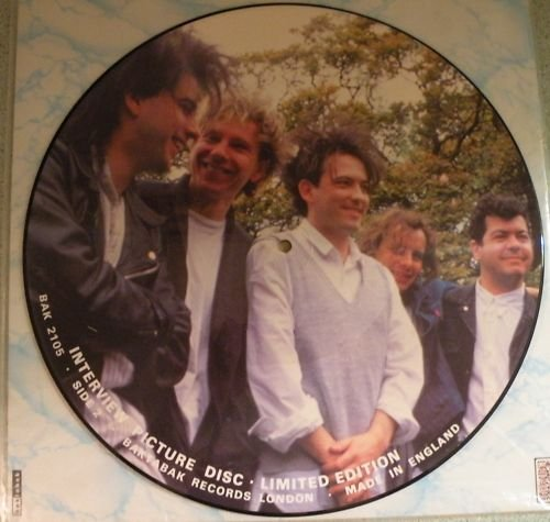 Cure 2 Interview Picture Lp Disc by Baktabak