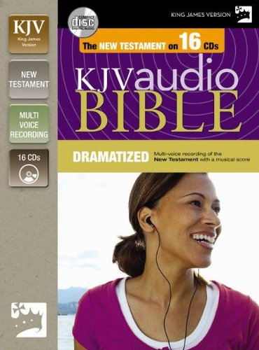 KJV, New Testament Dramatized Audio, Audio CD