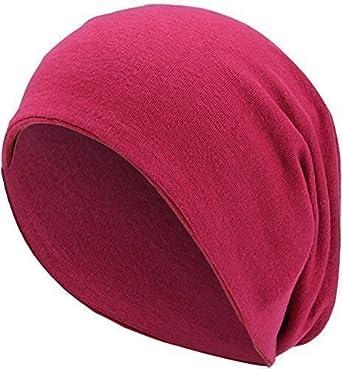 0cf2fd874991fe Damen Herren Jersey Long Beanie lange Slouch Mütze One Size Rot ...