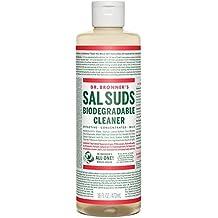 DR. BRONNER'S, SAL SUDS LIQUID CLEANS 16 OZ EA 1