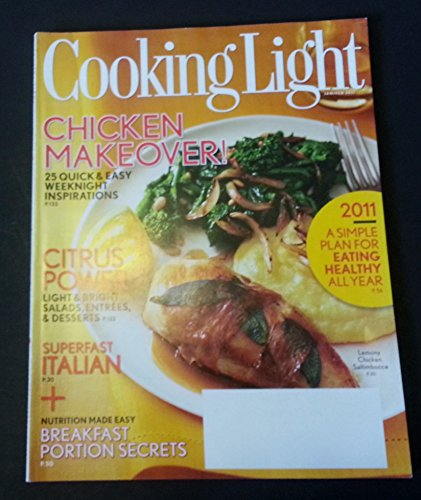 Cooking Light Magazine (Chicken Makeover, January February 2011) (Sauteed Chicken)