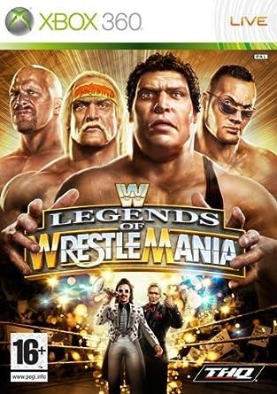 Thq Wwe Legends Of Wrestlemania Xbox 360 Juego Xbox 360 Amazon