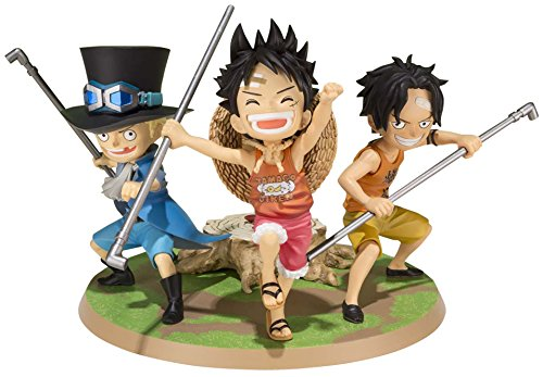 Tamashii Nations Bandai Luffy & Ace & Sabo A Promise of Brothers One Piece  Action Figure -