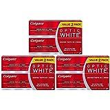 コルゲート オプティックホワイト スパークリングミント 歯磨き粉 3.5oz 6個パック Colgate Optic White Toothpast Sparkling Mint