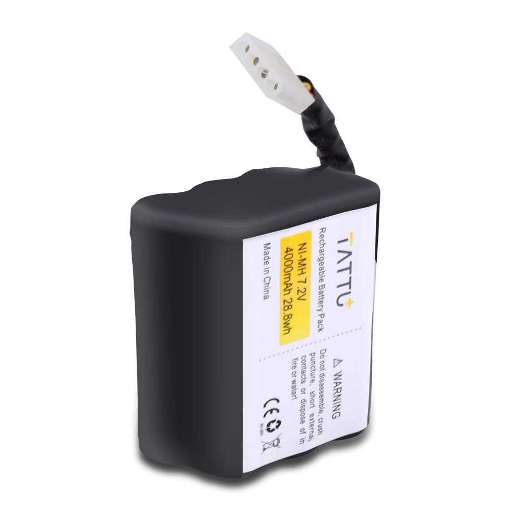 Reachargeable For Neato XV-11 XV-14 XV-21 4000mAh Battery 2-Pack XV-15 XV-12