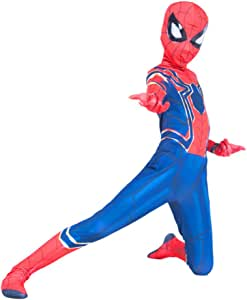 YIWANGO Adulto del Niños Disfraz De Spiderman Halloween Bola De ...