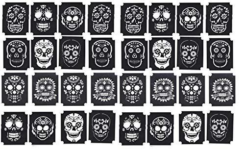 Sugar Skull ~ Day of the Dead ~ Día de los Muertos Collection (Sugar Skull ~ Day of the Dead Tattoo stencils)]()