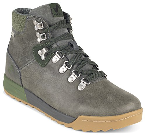 Cypress Premium Boot Leather Waterproof Forsake Hiking Women's Patch Grey 4znwqBURSp