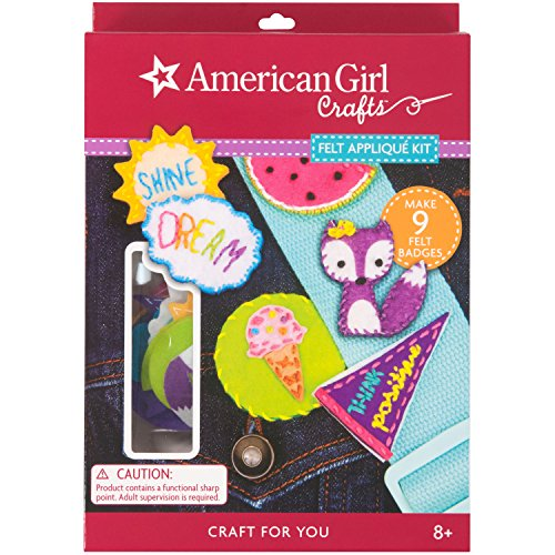 American Girl Crafts – 30 – 749764 (con Kit de aplicación de fieltro