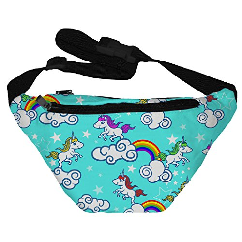 Funny Guy Mugs Unicorn Fanny Pack (80s Guys Costume)