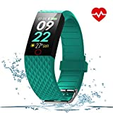 WOSPORTS Fitness Tracker HR– Color Smart Watch – Heart Rate Fitness Tracker – Waterproof ‎Fitness Watch – Fit Watch Tracker Pedometer for Men, Women, Kids – Activity Tracker