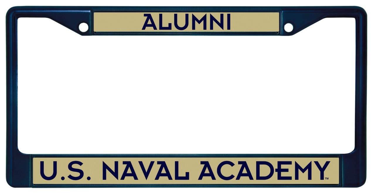 Rico US Naval Academy Midshipmen Alumni Metal License Plate Frame