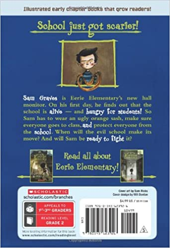 The School is Alive!: A Branches Book (Eerie Elementary #1): Jack ...