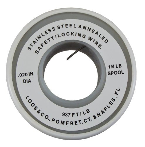 """UPC 736791017636, Loos Cableware SLWQ020 Stainless Steel Safety Locking Wire for 0.020"""" Diameter Wire Rope"""