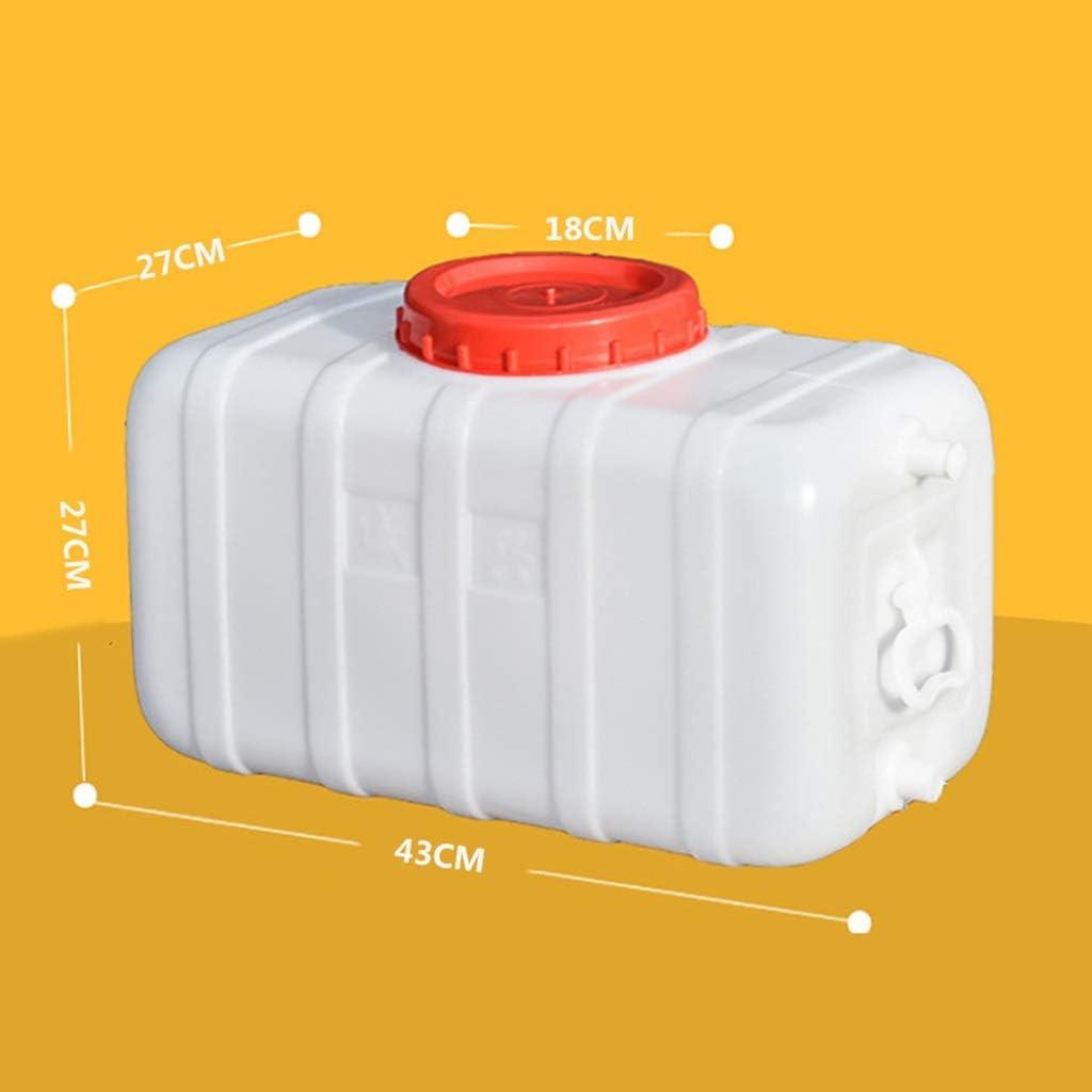 水平水槽、家庭用水貯蔵バケツ、水容器、家庭用水/農業灌漑/キャンプ用 (Size : 28L)