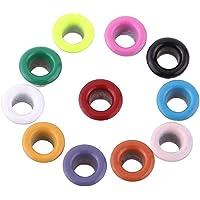500 Unids Colores Mezclados 3mm Forma Redonda Ojales
