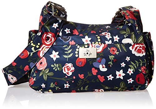 JuJuBe Limited Edition HoBoBe Purse Diaper Bag, Midnight Posy
