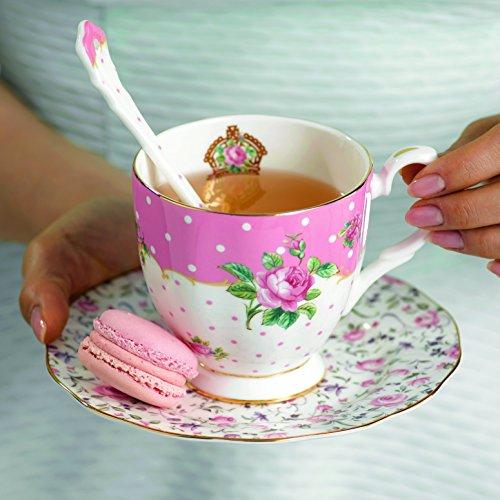 Royal Albert Set of 4 Mixed Ceramic Spoons by Royal Albert (Image #1)