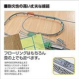 "Kato USA Model Train Products Unitrack, 282mm (11"") Radius 45-Degree Curve Track"