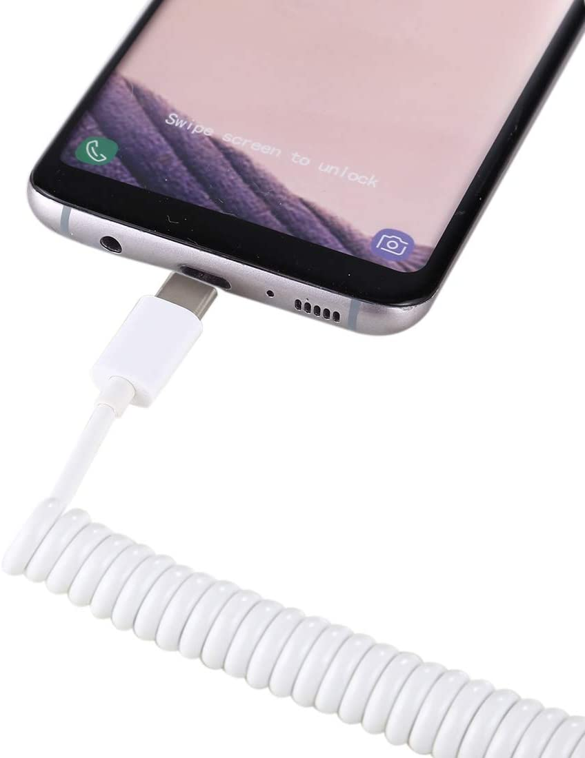 Note8 and More for MacBook Pro Galaxy S9//S9+ White JIANGNIUS Cable Type C Male to USB A Female Adapter OTG Cable