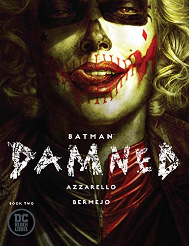 BATMAN DAMNED #2 MAIN COVER
