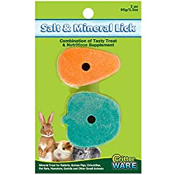 Ware Manufacturing Apple/Carrot Salt and Mineral Small Pet Chew Treat