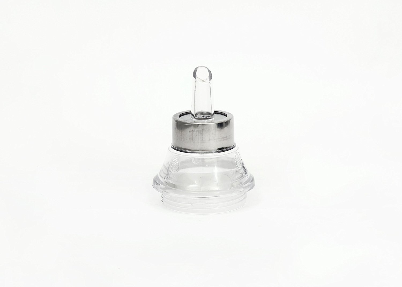 Starnk Oil Dispenser Controlled Cooking Stainless Steel Unbreakable Oil Vinegar Pot Oil Pourer Bottle Olive Oil Container