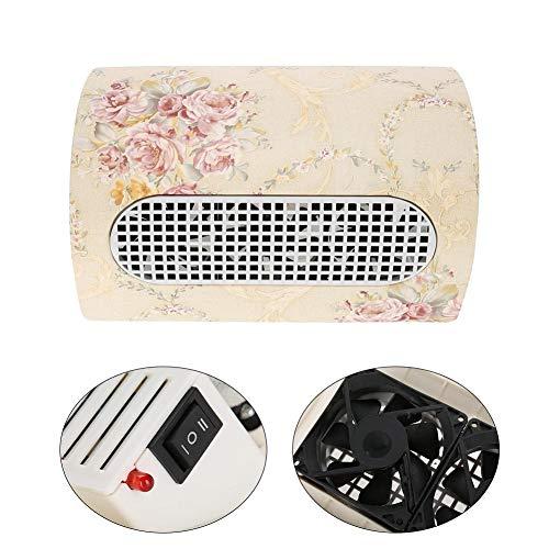 Colector de polvo para uñas de 15W, Herramienta de aspiradora de 3 ventiladores, Herramienta de arte de uñas Salon Ideal...